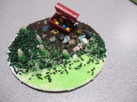 Treasure Chest, Chocolate Rocks, Sparkling Sugar Green, Sprinkles Ant Mix, Krunch Chocolate