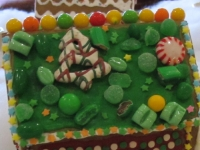 Spice Drops - Assorted, Trees - Yogurt Covered, Jelly Beans - Green, Sprinkles - Stars